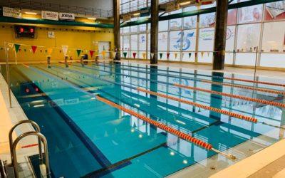 Reapertura de la piscinas climatizadas de Almansa tras las mejoras de eficiencia energética